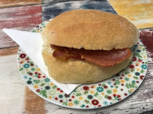 The Little Coffee Shop Dumbarton : Bacon Roll