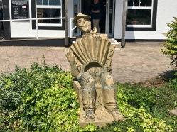 Gretna Green : Sculpture Man