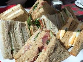 Gretna Green : Afternoon Tea Sandwiches