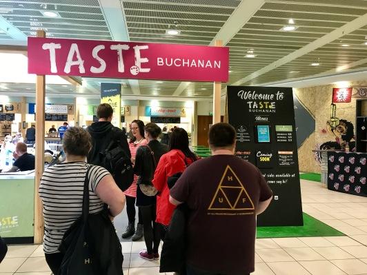 Taste Buchanan Event : Entrance