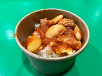 Taste Buchanan Event : Chicken Chorizo hot pot with infused rice