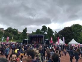 Glasgow Mela : Outside 1