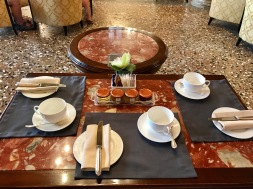 Venice : Hotel Danieli Afternoon Tea 1