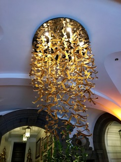 Chaophraya Glasgow : Entrance Light