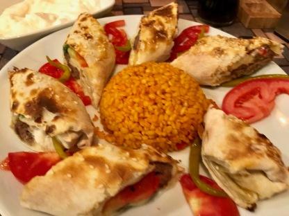 Efes Turkish Cuisine (Bucharest, Romania) : Sarma Beyti 2