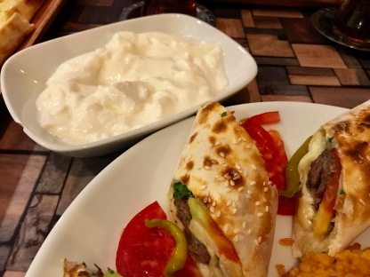 Efes Turkish Cuisine (Bucharest, Romania) : Sarma Beyti