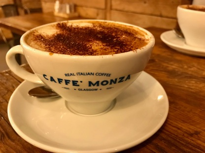 Caffe Monza Glasgow : Coffee