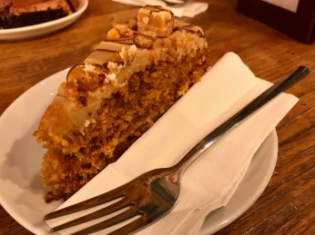 Caffe Monza Glasgow : Toffee Fudge Cake