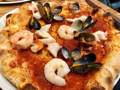 Celinos : Fruitti di Mari Pizza
