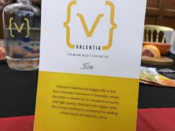 Gin Fall 2018 Event : Valentia Gin
