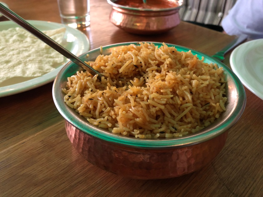 Charcoals Indian Glasgow Rice