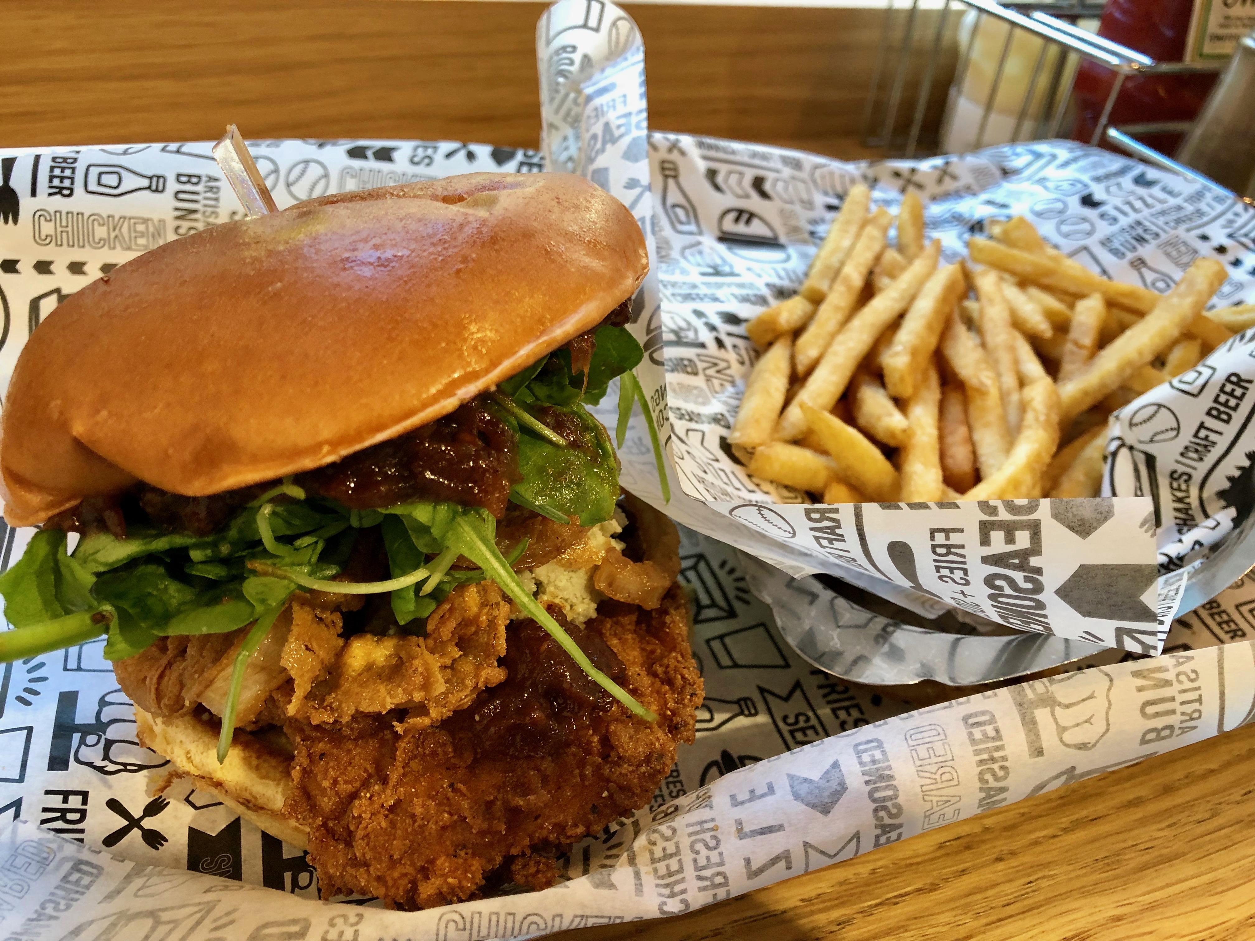 Smash Burger Glasgow : Chicken Burger