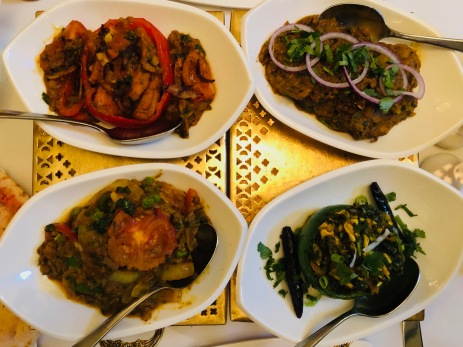 Zest (Edinburgh) : All the Curries