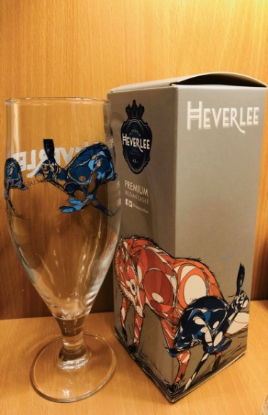 Heverlee Beer Limited Edition Glass