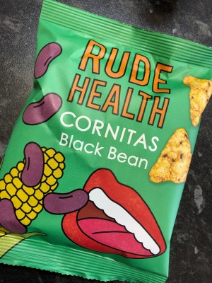 BeerMeNow Subscription Box : Rude Health Cornitas Black Bean