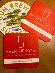 BeerMeNow Subscription Box : Coasters