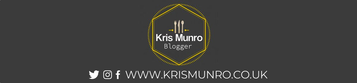 Kris Munro Glasgow Food Travel & Lifestyle Blog | Restaurant & Food Reviews in Glasgow, Glasgow Food Blog, Scottish Food Blog